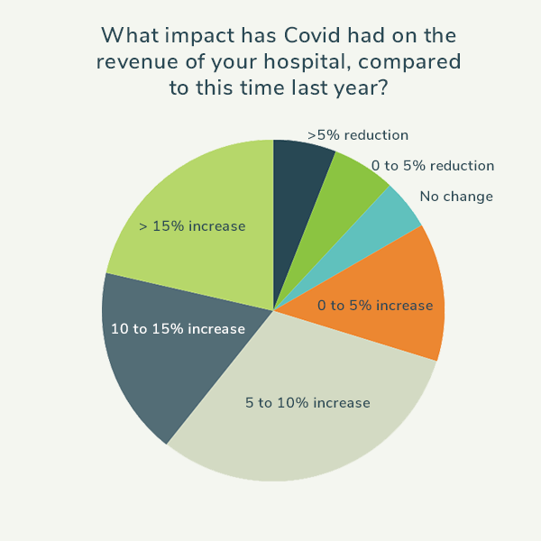 How has Covid impacted the revenue of your animal hospital?