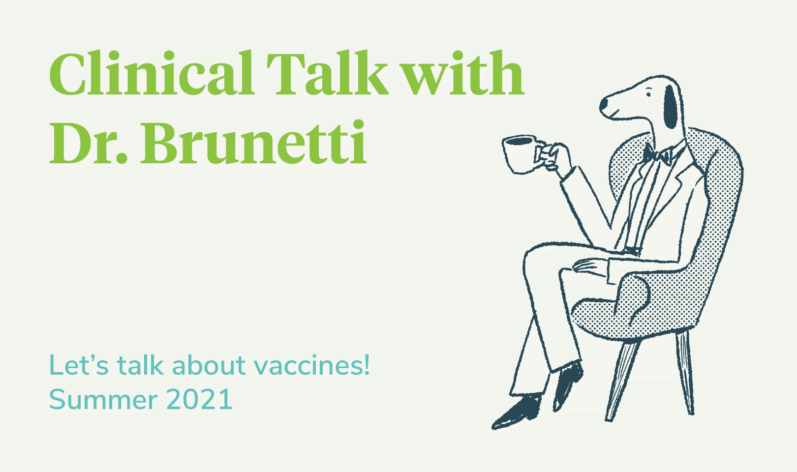 Let's talk about vaccines in vet med